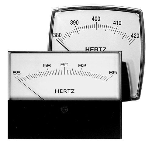 AC Frequency Panel Meters