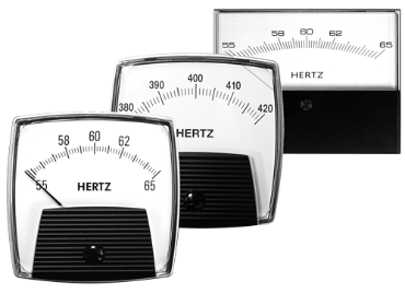 AC Frequency Analog Panel Meters